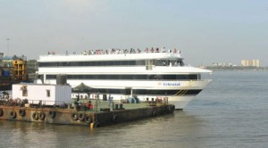 "India's First Floating Hotel In Mumbai ""Floatel"""