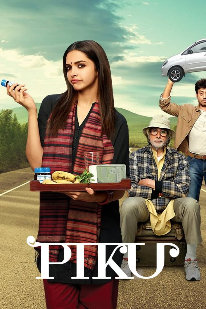 "Poster for the movie ""Piku"""