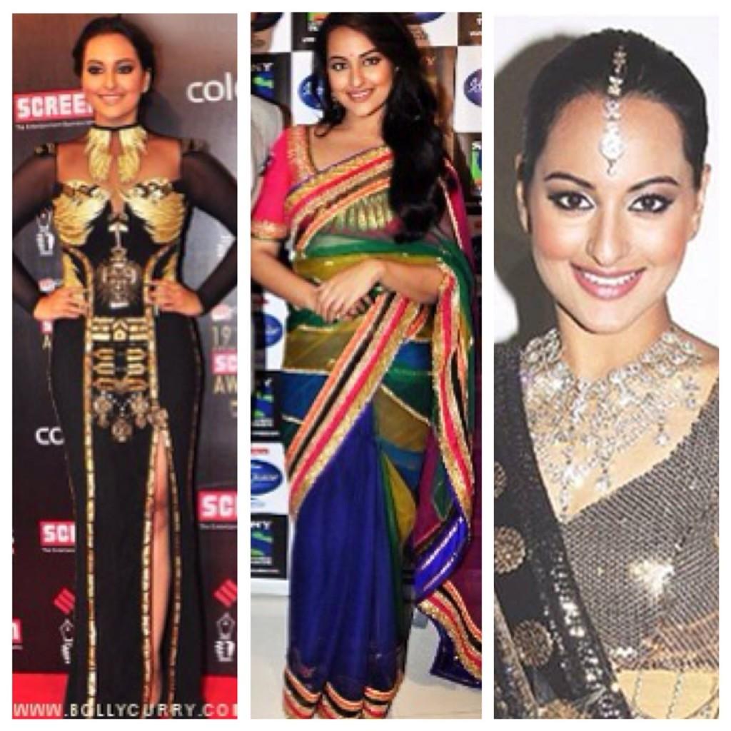 Bump into a stylist Sonakshi!!