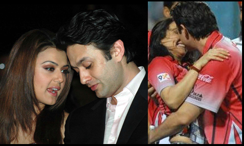 Ex-flames Ness Wadia and Preity Zinta in happier times