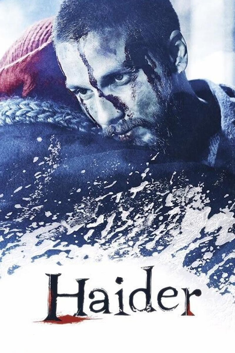 "Poster for the movie ""Haider"""