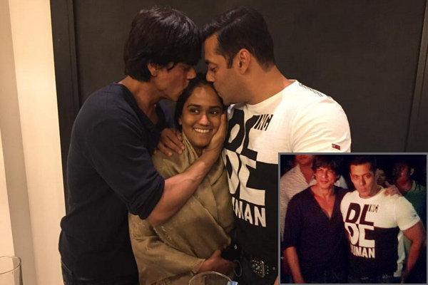 Shahrukh at Arpita's Sangeet with Salman