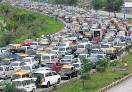 Notorious Mumbai Traffic