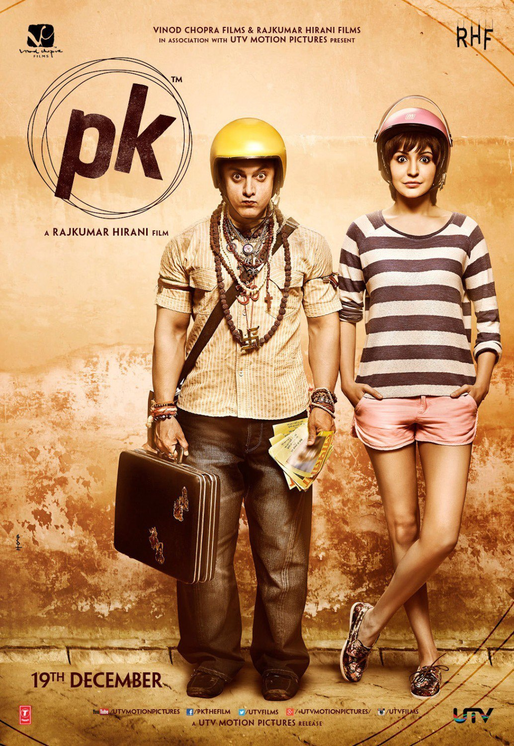 """Poster for the movie """"PK"""""""