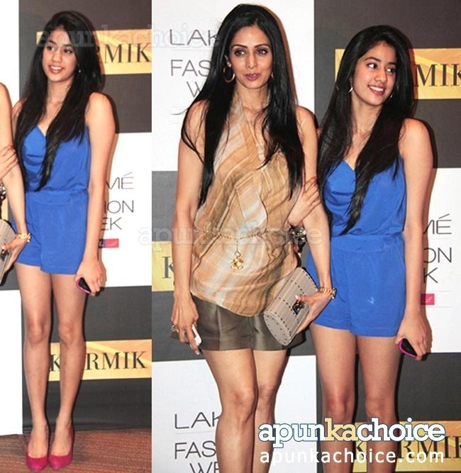 The kapoors - Glamour stricken!! Jhanvi Kapoor pic