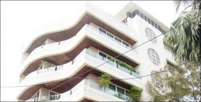 Galaxy Apartments is known to be very close Salman Khan