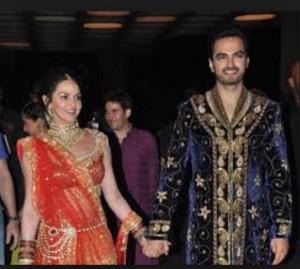 Isha Deol looks very pretty on her first Karwachauth