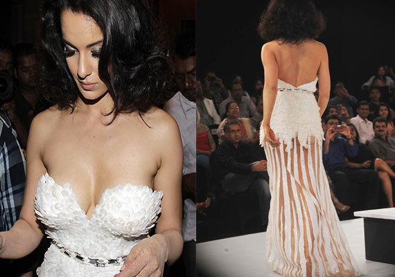 Kangana Ranaut makes a fashion faux pas