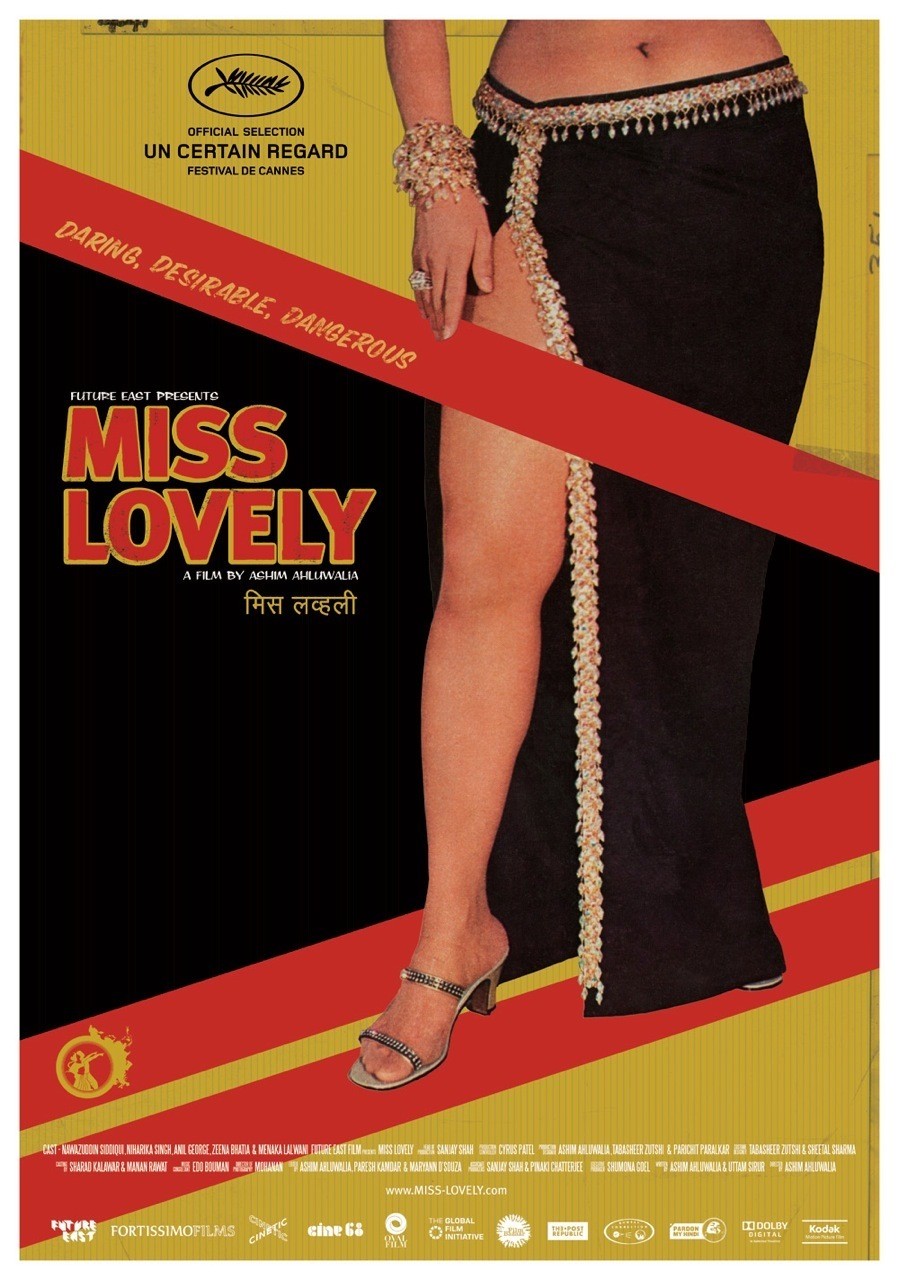 """Poster for the movie """"Miss Lovely"""""""