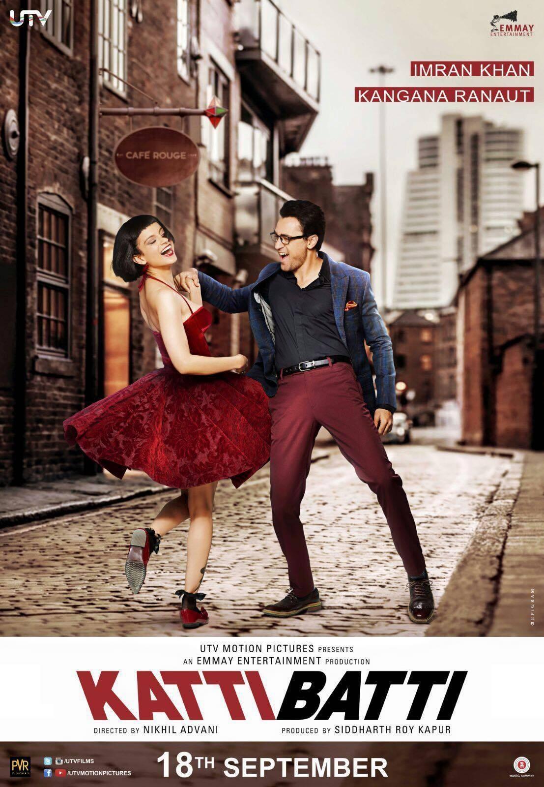 """Poster for the movie """"Katti Batti"""""""