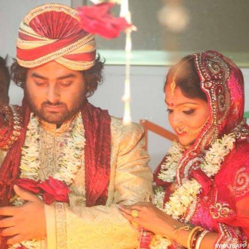 Arijit Singh marries his long time friend Koel