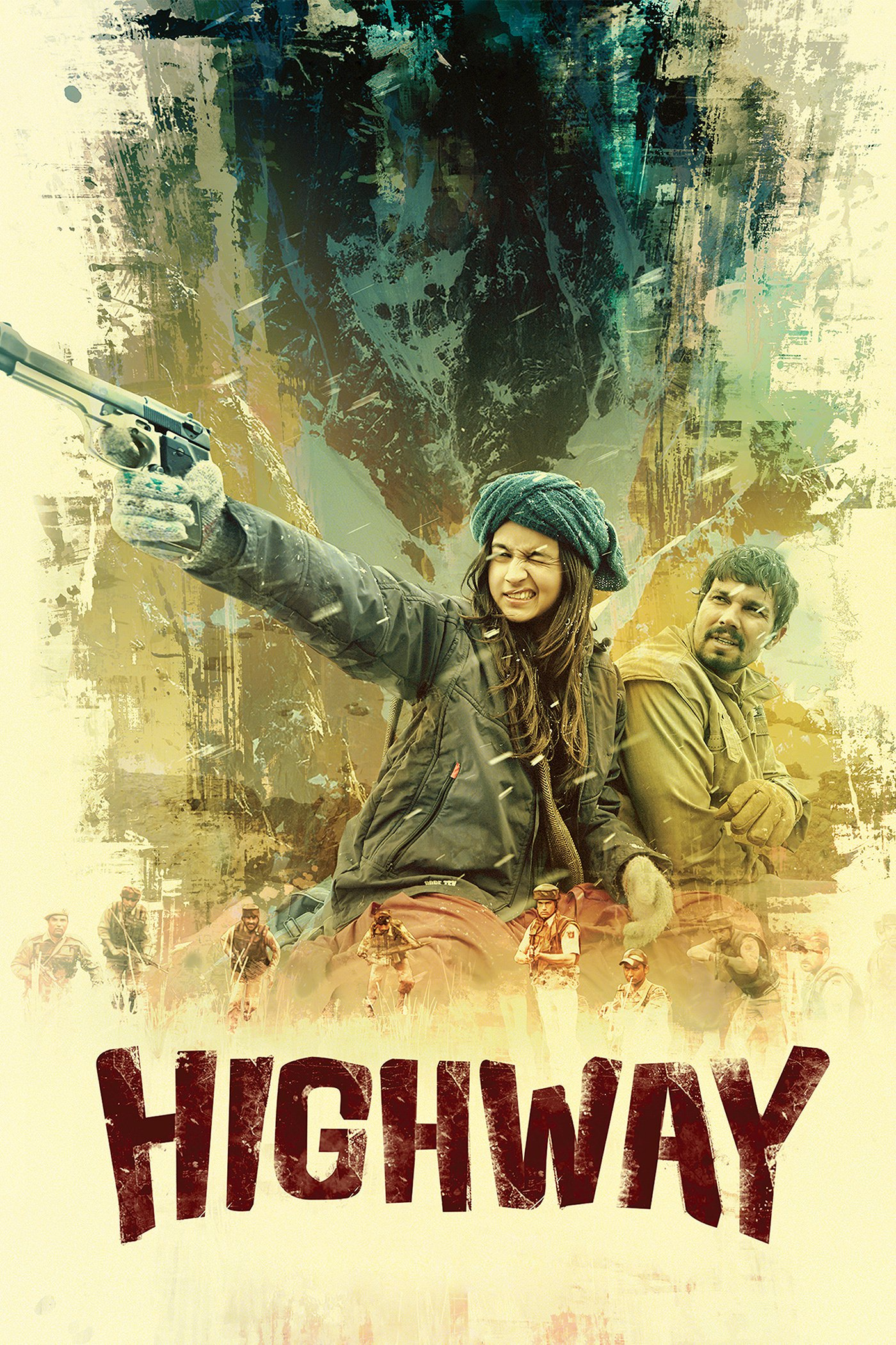 """Poster for the movie """"Highway"""""""