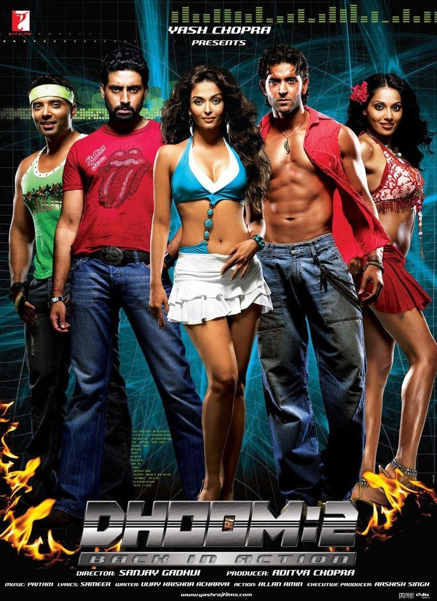 """Poster for the movie """"Dhoom 2"""""""