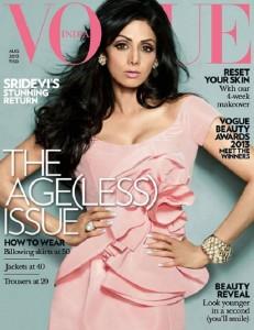 Vogue describes Sridevi as 'age(less)'