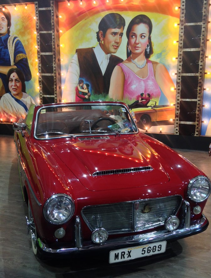 Vintage Bollywood Cars